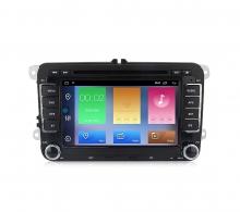 Навигация двоен дин за VW GOLF, TIGUAN, CADDY с Android 10 VW4220H GPS, WiFi,DVD 7 инча