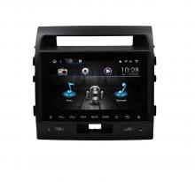 Навигация двоен дин за TOYOTA Land Cruiser 200 с Android 10 T4307H GPS, WiFi,DVD 10.1 инча