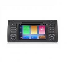 Навигация двоен дин за BMW E39 E53 E38 с Android 10 BM4438H GPS, WiFi,DVD,7 инча