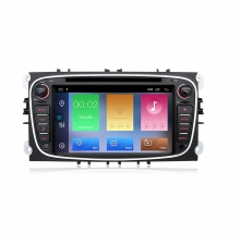 Навигация двоен дин за FORD Mondeo, Focus, S-Max с Android 10 F4400H GPS, WiFi,DVD, 7 инча