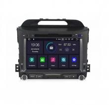 Навигация двоен дин за KIA SPORTAGE (11-15) с Android 9.0  K4002H GPS, WiFi,DVD, 8 инча