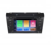 Двоен дин навигация за Mazda 3 (04-09) с Android 10 MA4001H GPS, WiFi, DVD, 7 инча