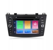 Двоен дин навигация за Mazda 3 (09-12) с Android 10 MA8200H GPS, WiFi,DVD, 8 инча