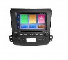 Навигация двоен дин за MITSUBISHI OUTLANDER (06-13)с Android 10 MI8130H GPS, WiFi, DVD, 8 ин