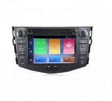 Навигация двоен дин за TOYOTA RAV4 (06-12) с Android 10 T7841H GPS, WiFi,DVD, 7 инча