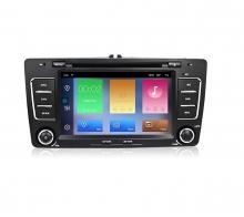Навигация двоен дин за SKODA Octavia,Yeti с Android 10 SK7330H GPS, WiFi,DVD, 7 инча