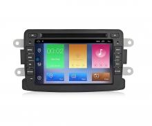 Двоен дин навигация  за DACIA Duster, Logan  с Android 10 D7011H GPS, WiFi,DVD, 7 инча