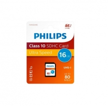 Карта памет PHILIPS 16GB MICRO CARD class 4 + АДАПТЕР