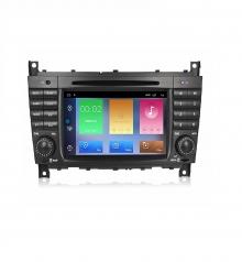 Навигация двоен дин за MERCEDES W203 W209 W463 с Android 10 M6919H GPS, WiFi, 7 инча