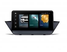 Навигационен двоен дин за BMW X1 QCB10X1UN GPS, ANDROID 10, WiFi, DVD, 10.25 инча