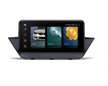 Навигационен двоен дин за BMW X1 QCB10X1CI GPS, ANDROID 10, WiFi, DVD, 10.25 инча
