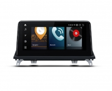 """Навигация двоен дин за BMW X5/X6 QB10X5CC GPS, ANDROID 10, WiFi, 10.25"""""""