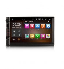 Универсален двоен дин ES8149U с Android 10, GPS, Осем ядрен процесор, 4GB, 64GB, 7 инча