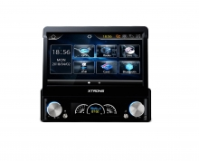 "Универсален eдиничен дин навигация D729G GPS, WINDOWS 6, BUETOOTH, 7"""