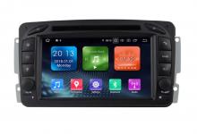8-ядрена GPS навигация ATZ за Mercedes C Class, Android 10, RAM 4GB, 32GB