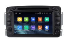 8-ядрена GPS навигация ATZ за Mercedes C Class, Android 10, RAM 4GB, 64GB