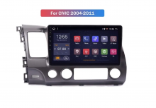 4-ядрена ATZ навигация за Honda Civic(04-11), Android 10, RAM 1GB, 16GB