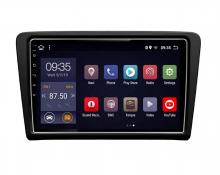 4-ядрена GPS навигация двоен дин за Skoda Rapid, ATZ,  Android 10, 2GB RAM, 16GB