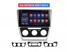 8-ядрена навигация двоен дин ATZ за Skoda Octavia, Android 10, 2GB RAM, 32GB