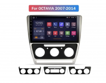 8-ядрена навигация двоен дин ATZ за Skoda Octavia, Android 10, 4GB RAM, 32GB
