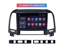 ATZ мултимедийна навигация, 4-ядрена, за Hyundai Santa Fe, Android 10, 1GB RAM, 16GB
