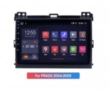 4-ядрена Навигация ATZ за Toyota Land Cruiser, Android 10, 2GB RAM, 16GB