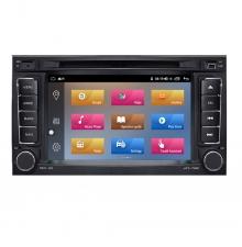 Двоен дин навигация за VW Touareg,T5,Multivan с Android 10 VW7301H GPS, WiFi,DVD 7 инча