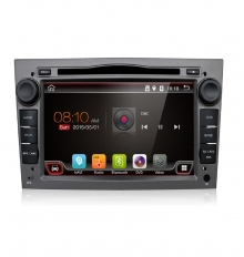 Мултимедия двоен дин за Opel OPC01GH, ANDROID 10, DVD, Графит