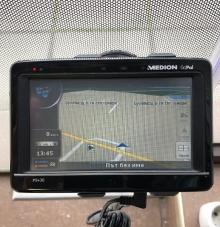 Употребявана GPS навигация за кола MEDION GOPAL P5430 - 5 инча