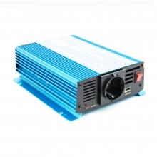 Инвертор пълна синусуида PNI SP500W 500W - 12V - 220V, USB 2A за кемпери, каравани