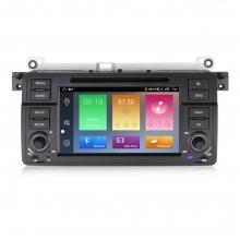 Навигация двоен дин за BMW E46 (98-06) с Android 10 BM7460H GPS, WiFi, DVD 7 инча