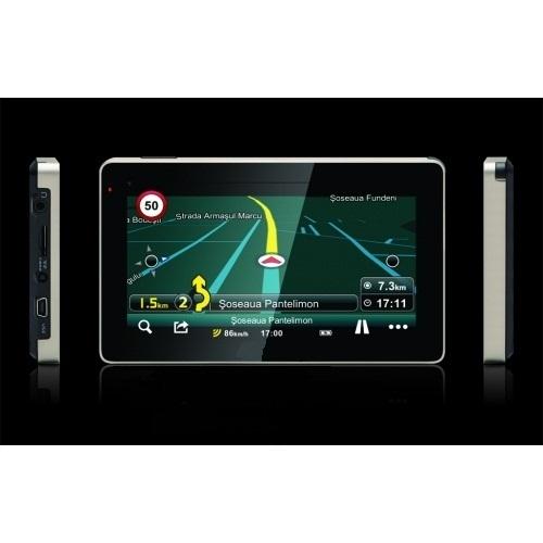 """GPS навигация за камион 5"""", 600MHZ + 2 програми"""